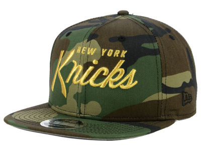 New York Knicks New Era NBA Classic Script 9FIFTY Snapback Cap