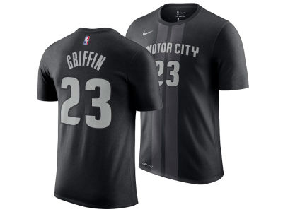 Detroit Pistons Blake Griffin Nike 2018 NBA Men's City Player T-shirt