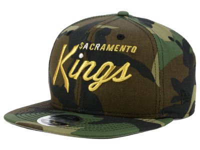 Sacramento Kings New Era NBA Classic Script 9FIFTY Snapback Cap