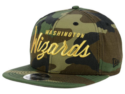 Washington Wizards New Era NBA Classic Script 9FIFTY Snapback Cap