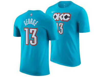 Oklahoma City Thunder Paul George Nike 2018 NBA Men's City Player T-shirt
