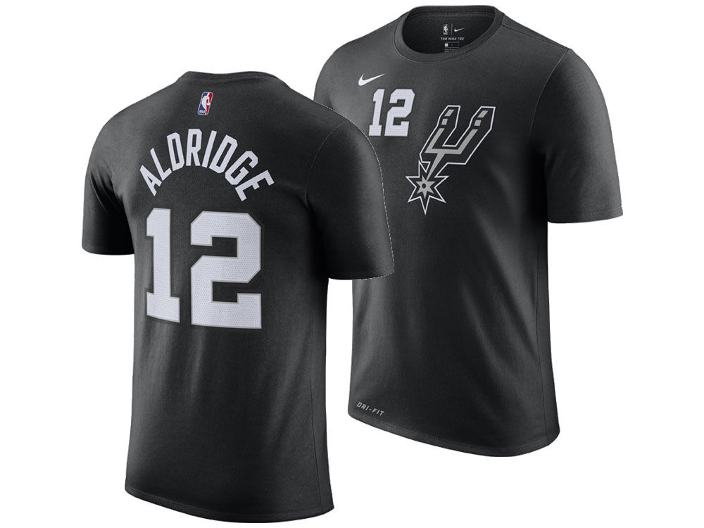 912a53ba6 ... cheapest san antonio spurs lamarcus aldridge nike 2018 nba mens city  player t shirt lids 97570