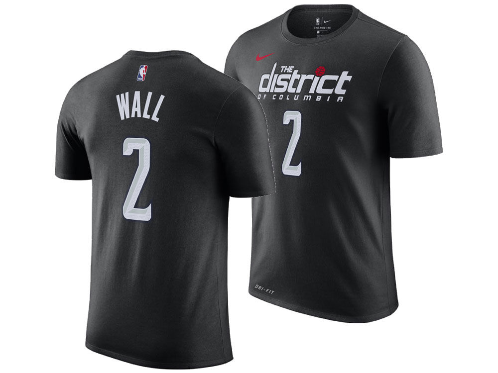 Washington Wizards John Wall Nike 2018 NBA Men s City Player T-shirt ... 44027da6c