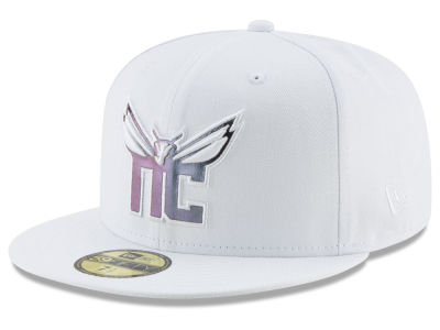 Charlotte Hornets New Era NBA Iridescent Combo 59FIFTY Cap