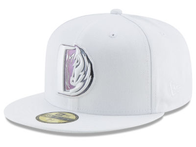Dallas Mavericks New Era NBA Iridescent Combo 59FIFTY Cap
