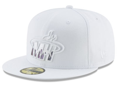 Miami Heat New Era NBA Iridescent Combo 59FIFTY Cap