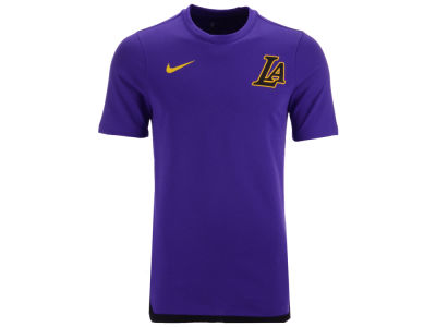 Los Angeles Lakers Nike NBA Men's City Edition Shooting T-Shirt
