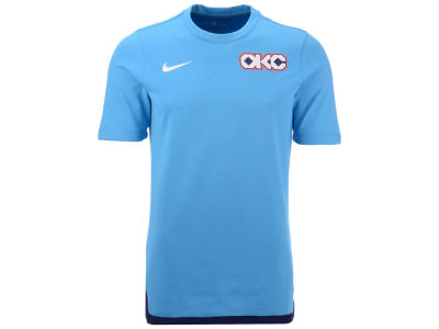 Oklahoma City Thunder Nike NBA Men's City Edition Shooting T-Shirt