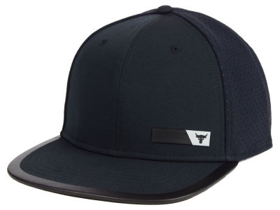 Under Armour Project Rock Hustle Flat Brim Cap