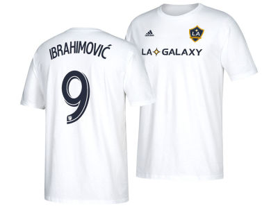 LA Galaxy Zlatan Ibrahimovic adidas MLS Home Player T-Shirt