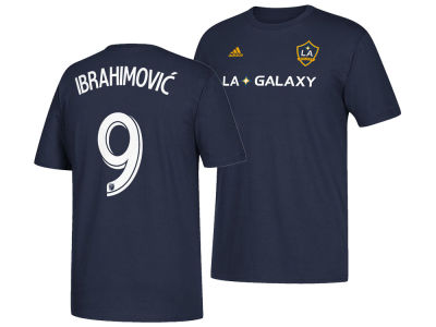 LA Galaxy Zlatan Ibrahimovic adidas MLS Men's Away Player T-shirt