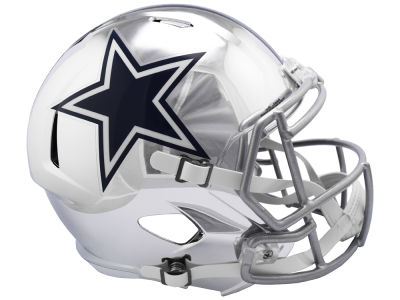 Dallas Cowboys Riddell NFL Speed Chrome Alternate Replica Helmet