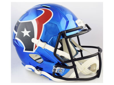 Houston Texans Riddell NFL Speed Chrome Alternate Replica Helmet