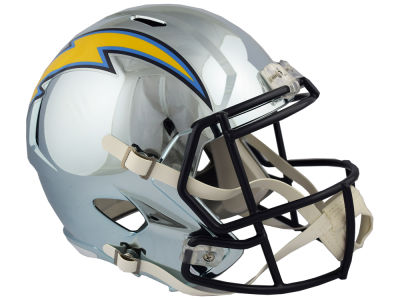 Los Angeles Chargers Riddell NFL Speed Chrome Alternate Replica Helmet