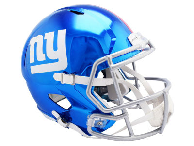 New York Giants Riddell NFL Speed Chrome Alternate Replica Helmet