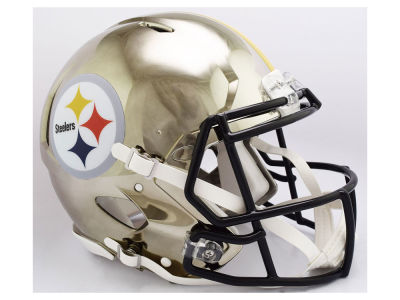 Pittsburgh Steelers Riddell NFL Speed Chrome Alternate Replica Helmet