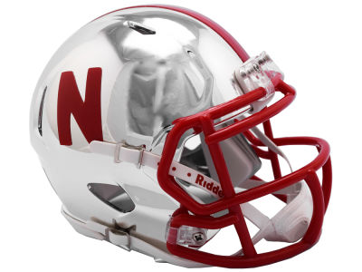 Nebraska Cornhuskers Riddell Speed Chrome Alt Mini Helmet