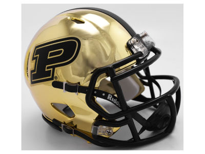 Purdue Boilermakers Riddell Speed Chrome Alt Mini Helmet