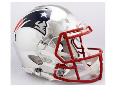 New England Patriots Riddell NFL Speed Chrome Alternate Authentic Helmet