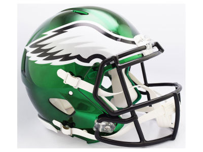 Philadelphia Eagles Riddell NFL Speed Chrome Alternate Authentic Helmet