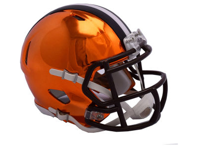 Cleveland Browns Riddell Speed Chrome Alt Mini Helmet