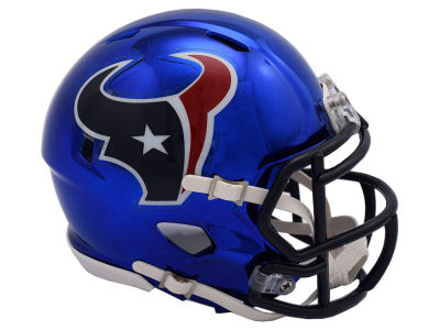 Houston Texans Riddell Speed Chrome Alt Mini Helmet