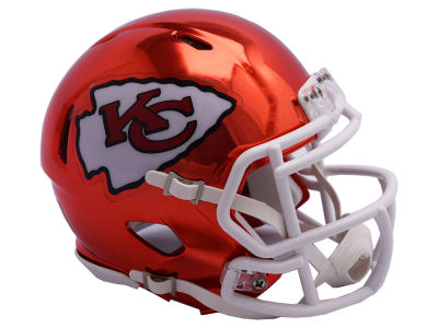 Kansas City Chiefs Riddell Speed Chrome Alt Mini Helmet
