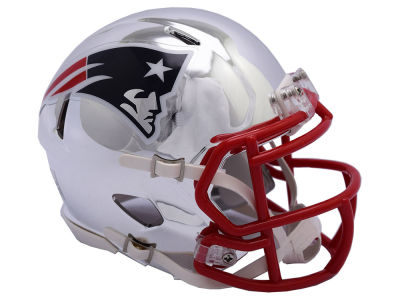 New England Patriots Riddell Speed Chrome Alt Mini Helmet