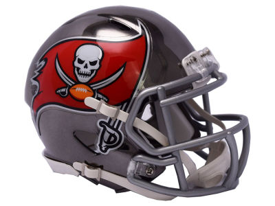 Tampa Bay Buccaneers Riddell Speed Chrome Alt Mini Helmet