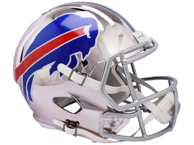 Buffalo Bills Riddell NFL Speed Chrome Alternate Replica Helmet