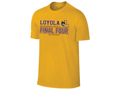 Loyola Ramblers Retro Brand 2018 NCAA Men's Final Four Bound T-Shirt