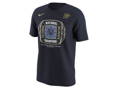 Villanova Wildcats Nike 2018 NCAA Men's Basketball National Champ Locker Room T-Shirt