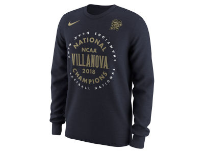 Villanova Wildcats Nike 2018 NCAA Men's National Champ Celebration Long Sleeve T-Shirt