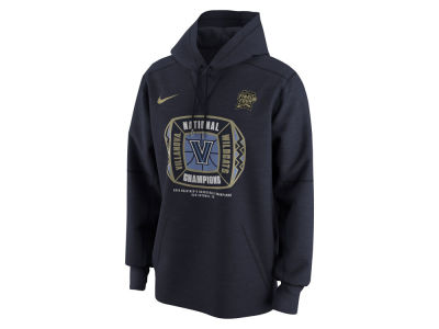 Villanova Wildcats Nike 2018 NCAA Men's National Champ Locker Room Hooded Sweatshirt