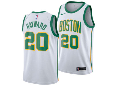 Boston Celtics Gordon Hayward Nike 2018 NBA Youth City Edition Swingman Jersey