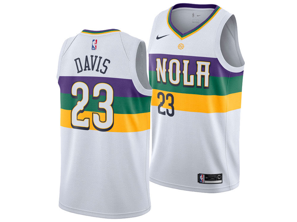 ba5f1b6f4ceb ... coupon for new orleans pelicans anthony davis nike 2018 nba youth city edition  swingman jersey d82fb