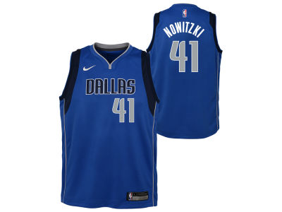 Dallas Mavericks Dirk Nowitzki Nike NBA Youth Icon Swingman Jersey
