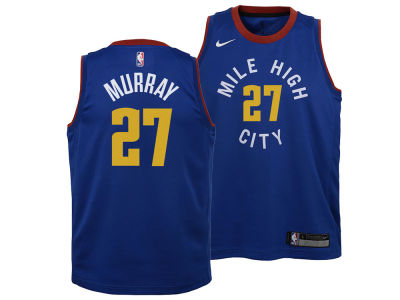 Denver Nuggets Jamal Murray Nike NBA Youth Statement Swingman Jersey