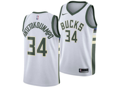 Milwaukee Bucks Giannis Antetokounmpo Nike NBA Youth Association Swingman Jersey