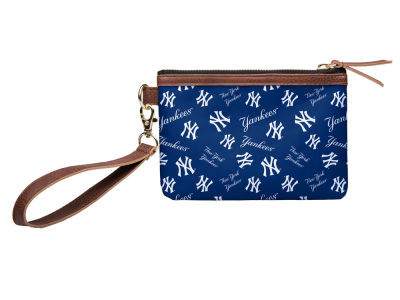 New York Yankees Printed Collection Wristlet