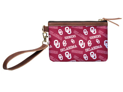 Oklahoma Sooners Printed Collection Wristlet