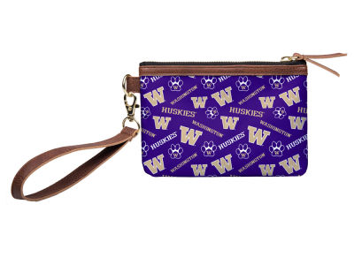 Washington Huskies Printed Collection Wristlet