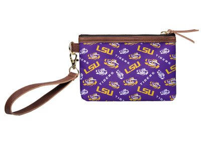 LSU Tigers Printed Collection Wristlet