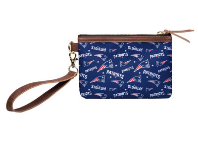 New England Patriots Printed Collection Wristlet