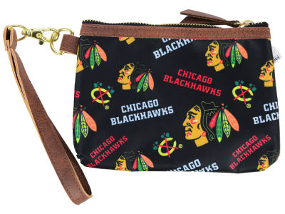 Chicago Blackhawks Printed Collection Wristlet