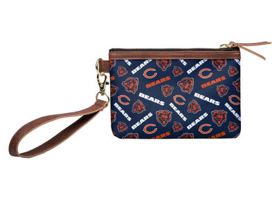 Chicago Bears Printed Collection Wristlet