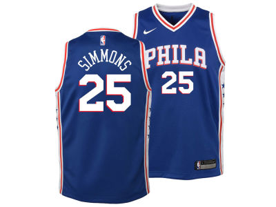 196d78236 ... philadelphia 76ers ben simmons nike nba kids icon replica jersey