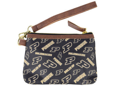 Purdue Boilermakers Printed Collection Wristlet