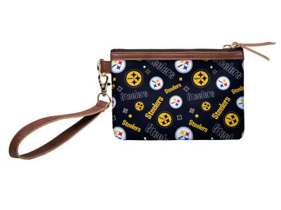 Pittsburgh Steelers Printed Collection Wristlet