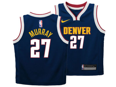 Denver Nuggets Jamal Murray Nike NBA Kids Icon Replica Jersey